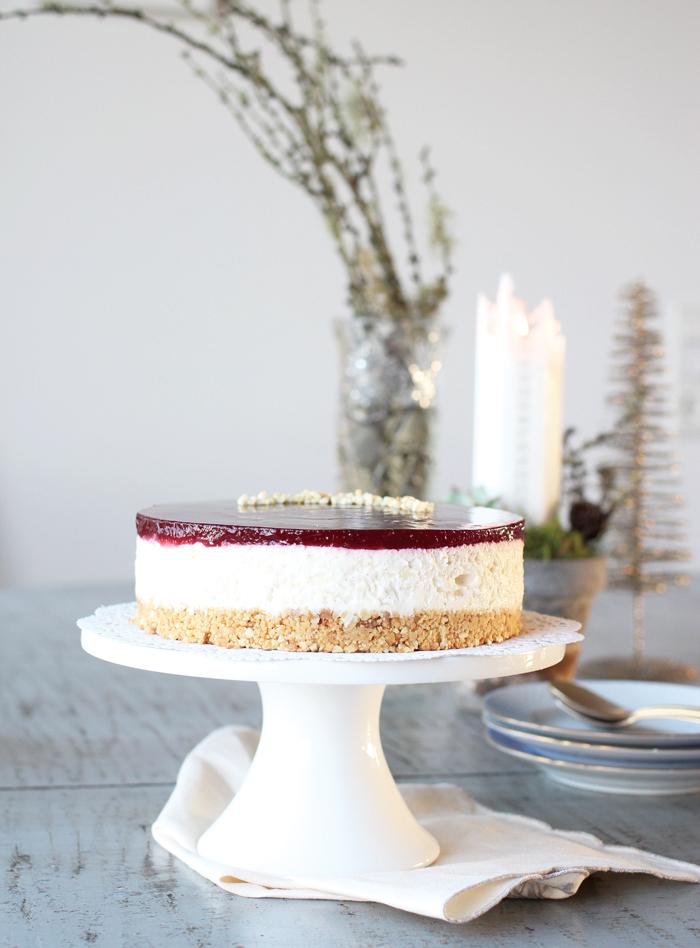 jule cheesecake opskrift