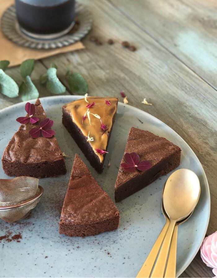 brownie - nem opskrift